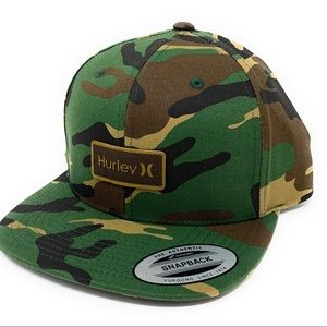 Hurley Hat Camo  OS